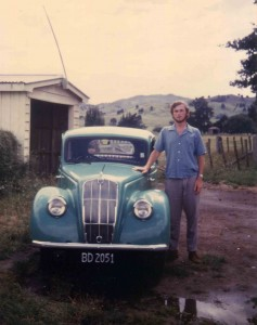 Those pre-Mum years, and the car that never made the return Christchurch - Taumarunui journey
